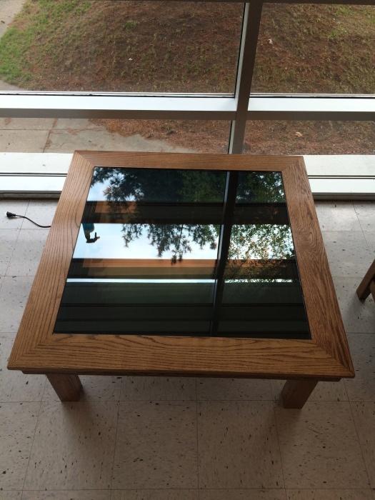 Классный журнальный столик с эффектом бесконечного колодца своими руками (20 фото)