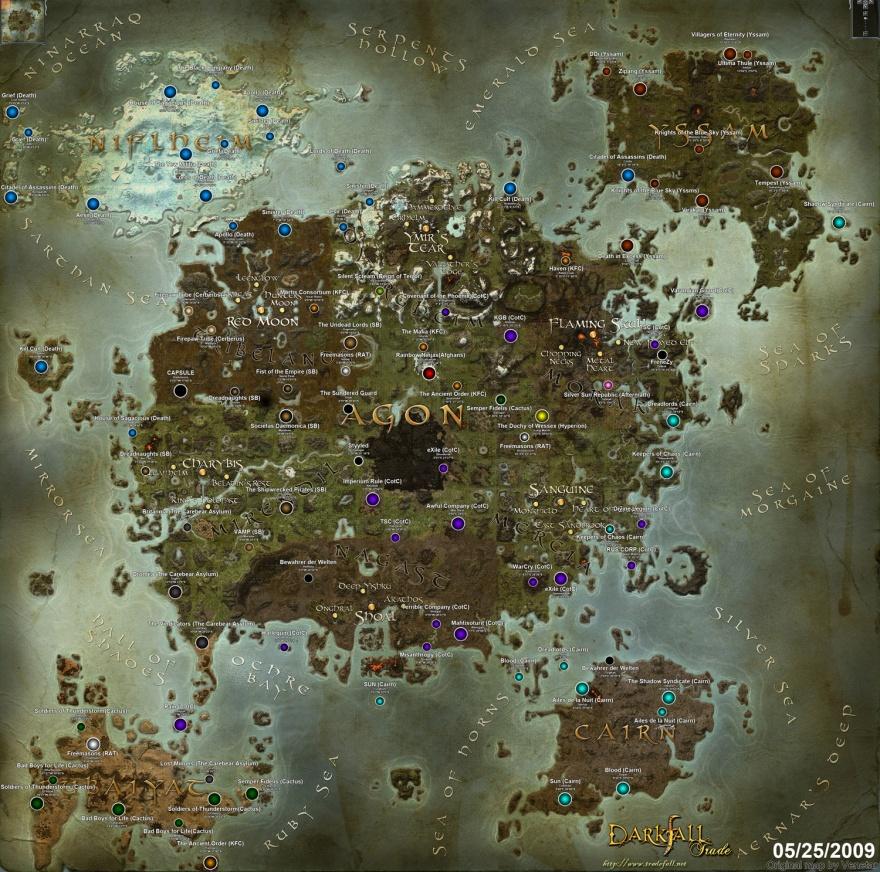 Карты виртуальных миров (16 картинок)