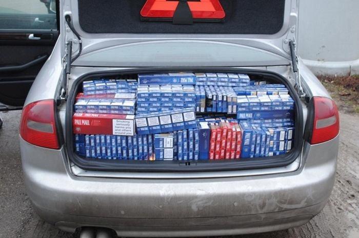 Сигаретная контрабанда (23 фото)