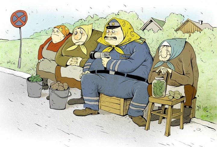 Веселое творчество Ольги Громовой (15 рисунков)