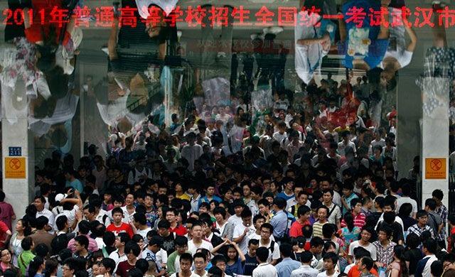 Как проходит общенациональный экзамен для старшеклассников в Китае (16 фото)