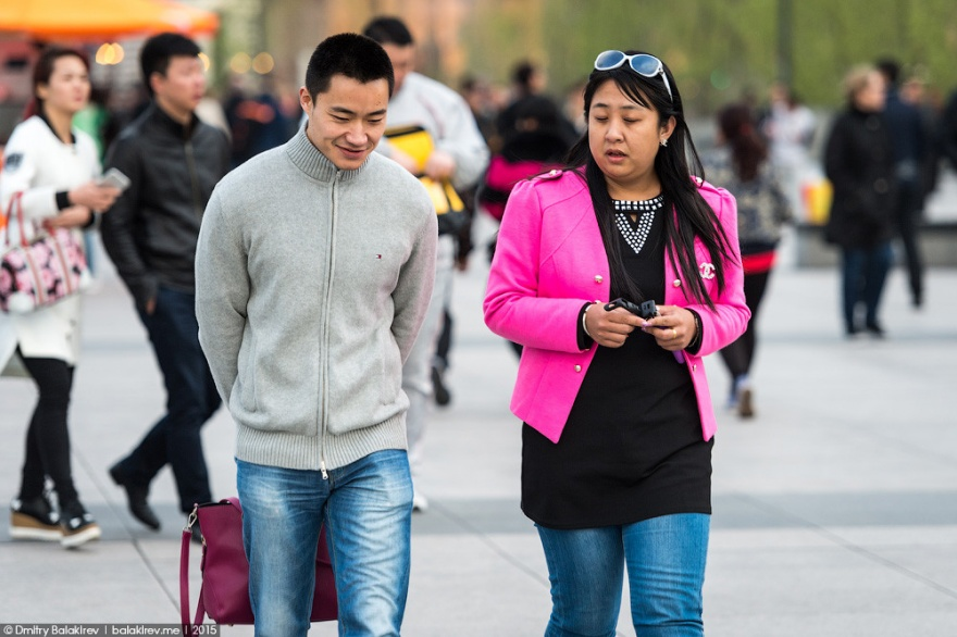 Китайская уличная мода (19 фото)
