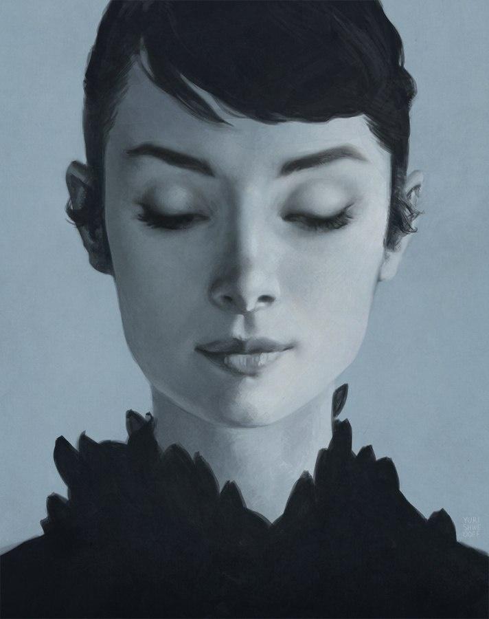 Творчество иллюстратора Юрия Шведова (54 картинки)