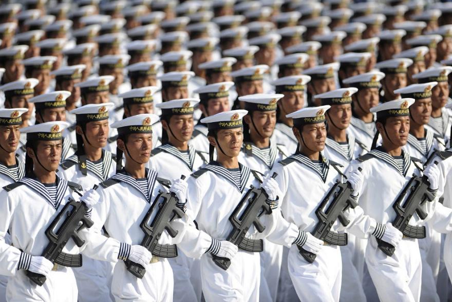 Фотографии массовых мероприятий в Китае (29 фото)