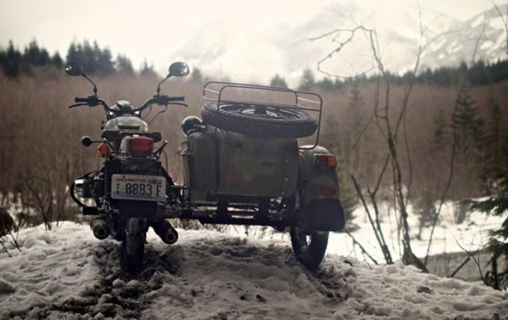"""Непобедимый мотоцикл """"Урал"""" (7 фото)"""