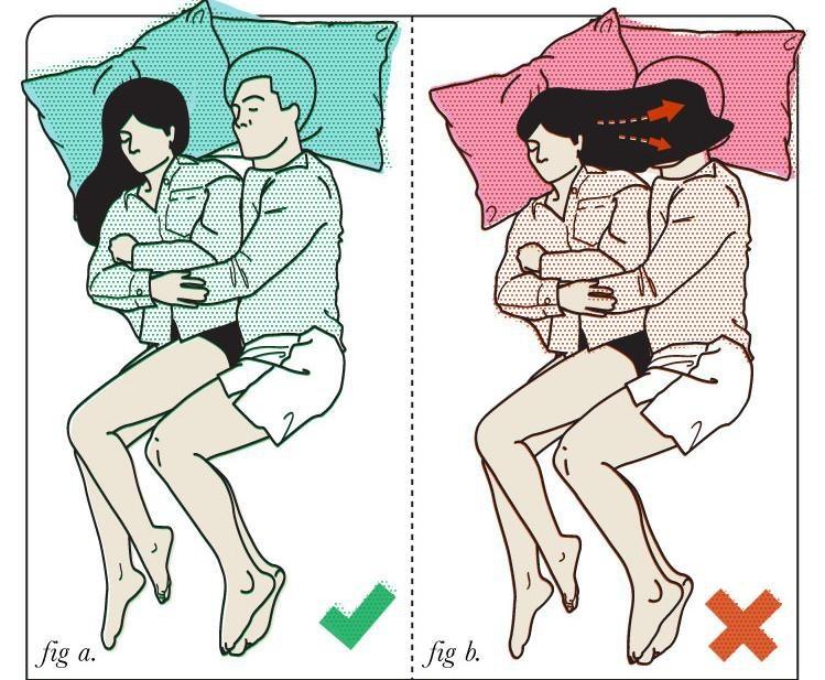 Как лучше всего спать влюбленным (10 фото)