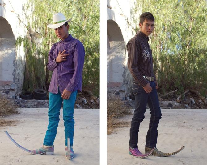 Необычные ковбойские сапоги (16 фото)