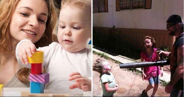 В чем разница между мамой и папой (10 фото)
