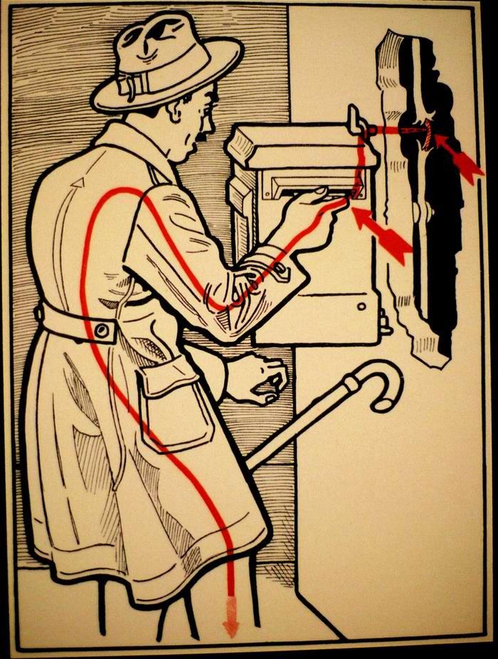 Техника безопасности в картинках по книге 1933 года (30 картинок)