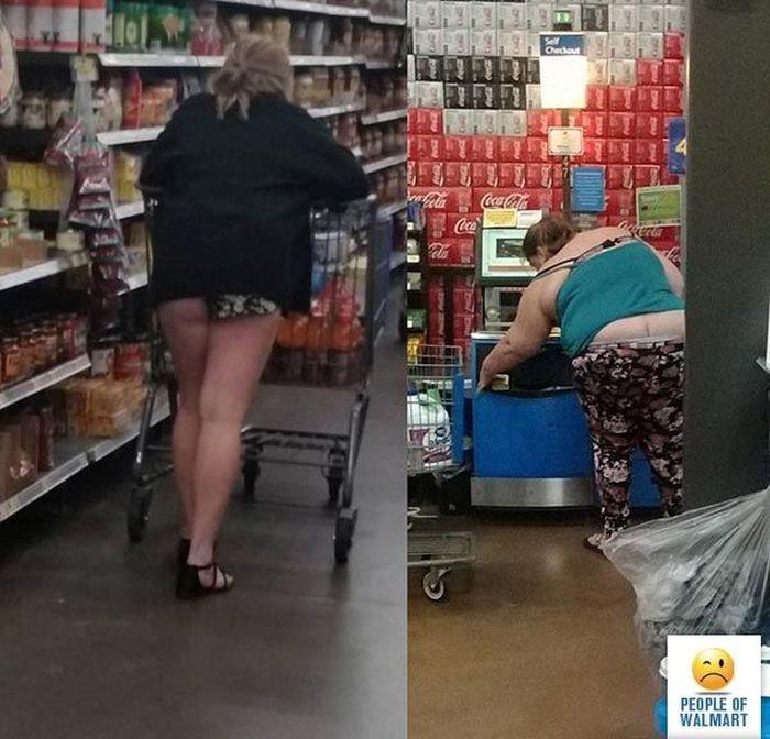 Странные покупатели в американских супермаркетах(26 фото)