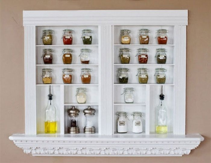 Варианты хранения специй на кухне (14 фото)