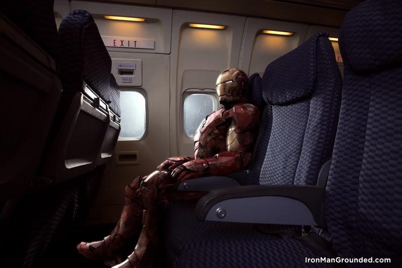 Приключения железного человека в обычном мире (17 фото)