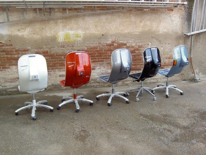 Эксклюзивная мебель из металлолома (27 фото)