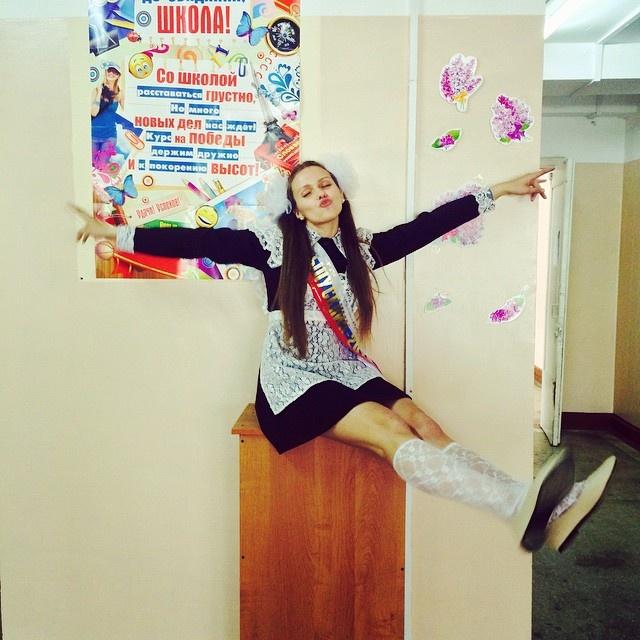 Фотографии выпускниц этого года (43 фото)