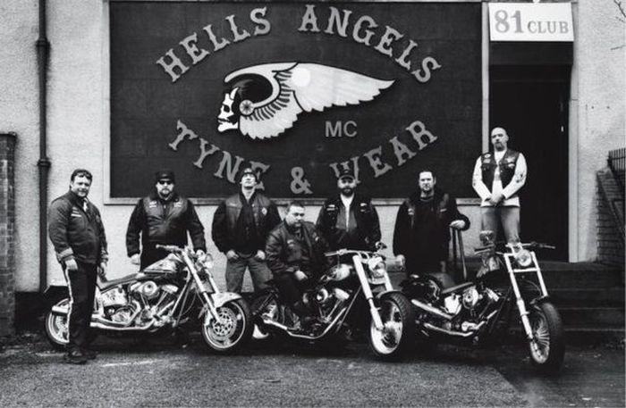 Банды байкеров в США (4 фото)