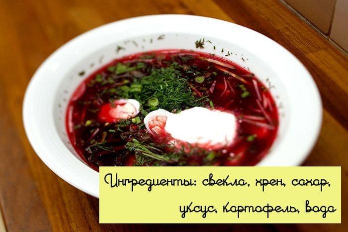 Холодные супы - вкусно, просто и быстро (10 фото)