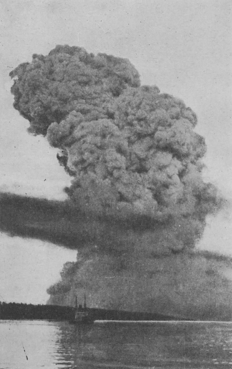 Самый мощный взрыв в истории человечества, произошедший до появления атомной бомбы (16 фото)