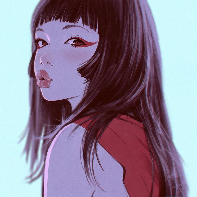 Девушки глазами иллюстраторов (50 картинок)
