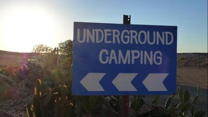 Город под землей в центральной части Австралии (14 фото)