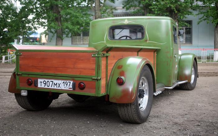 Удивительное преображение старого грузовика МАЗ (14 фото)