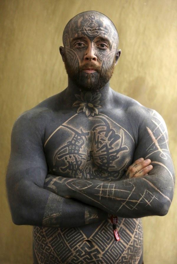 14 фото с британского фестиваля татуировок