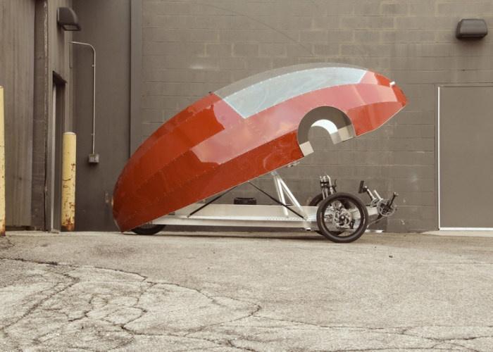 Если велосипед скрестить с электромобилем (9 фото)