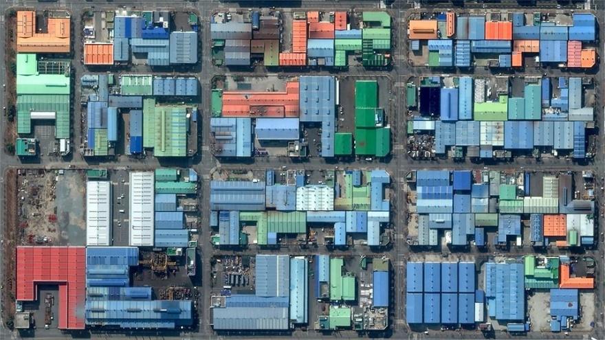 Классные фотографии, сделанные с помощью Google Earth (35 фото)