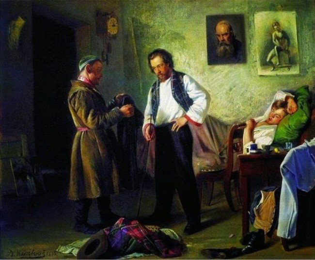 Забавные комментарии к картинам известных художников (21 картина)