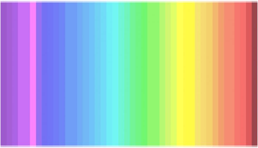 Простой тест на восприятие цвета