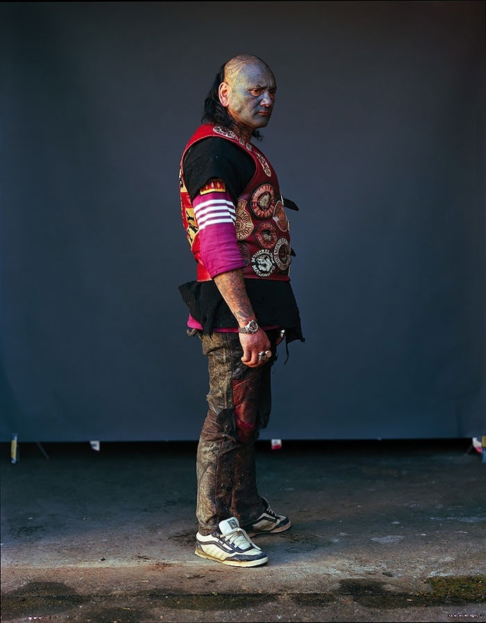 Фотографии участников одной из самых известных банд Новой Зеландии (11 фото)