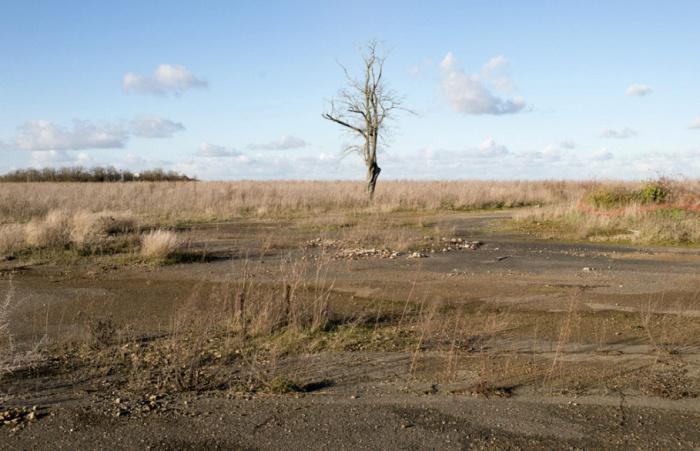 Территория Франции, напоминающая Чернобыльскую зону отчуждения (30 фото)
