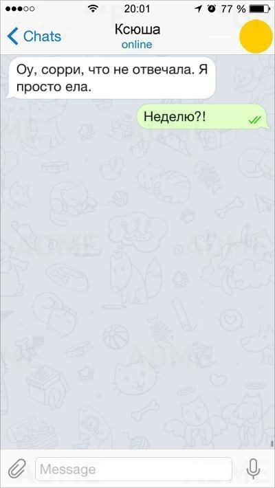 Женская логика в СМС (15 картинок)