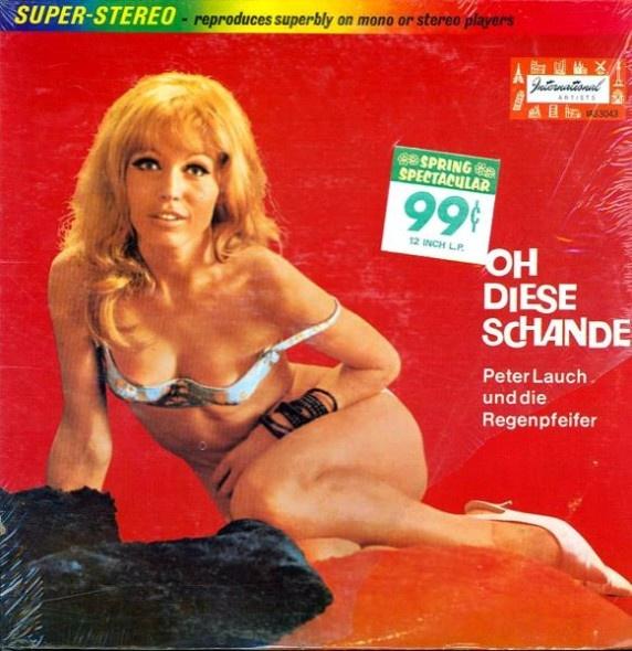 Сексуальные обложки старых пластинок (38 фото)