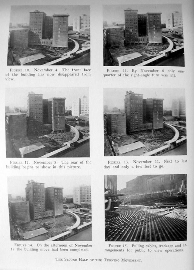 Один из самых масштабных и сложных  проектов по переносу здания в истории (4 фото)