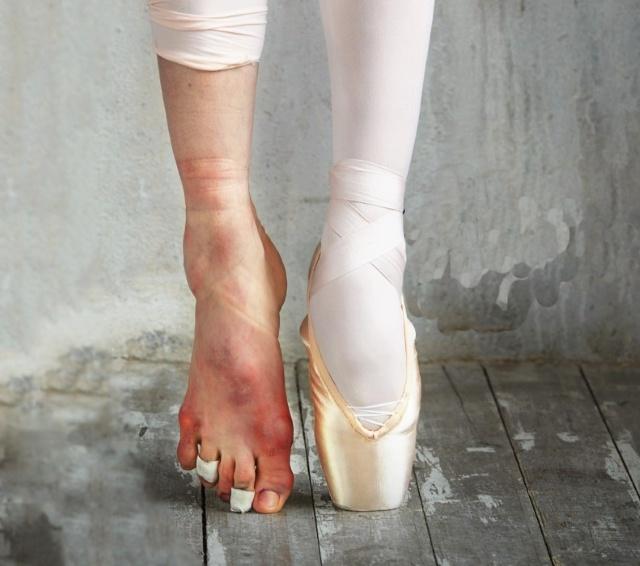 В чем ходят балерины на ногах