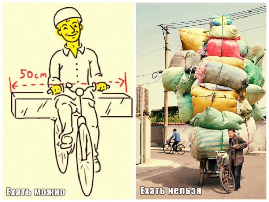 Правила поведения на дорогах для велосипедистов (11 фото)