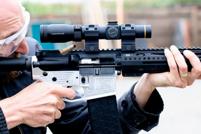 Варианты создания самодельной винтовки в США (9 фото)