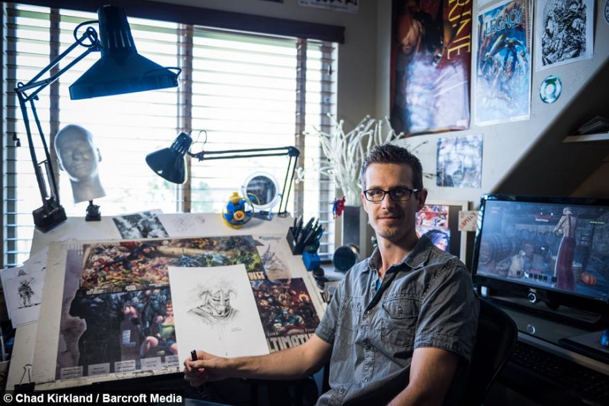Фанатичный геймер потратил 50 тысяч долларов на интерьер в стиле любимой игры (9 фото)