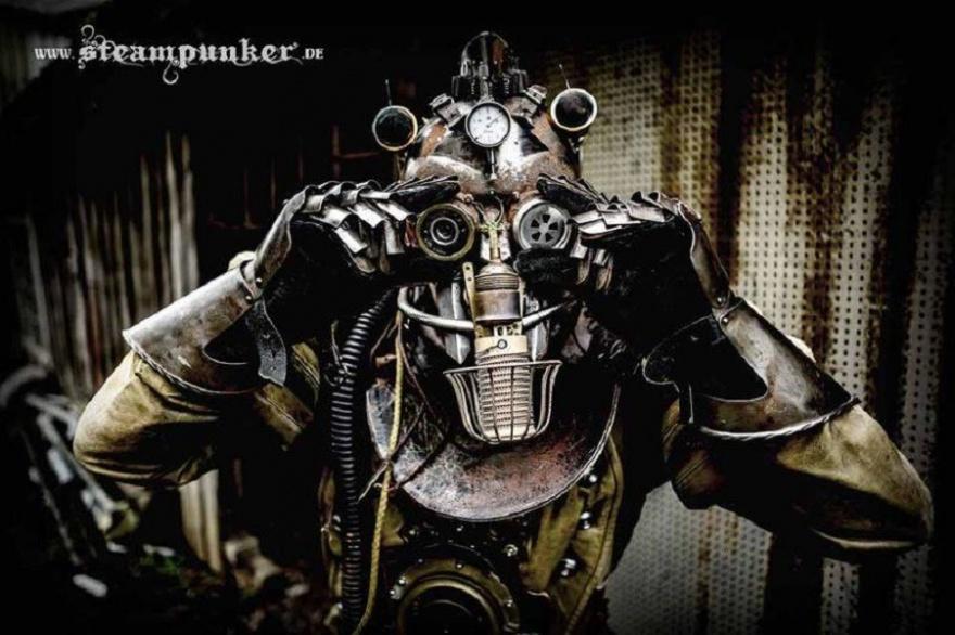 Необычное творчество поклонника стимпанка (10 фото)