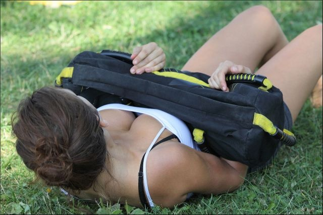 Фото и селфи девушек с большой грудью (44 фото)
