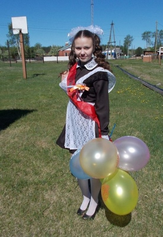 В одной из школ Свердловской области в этом году был только один выпускник (5 фото)