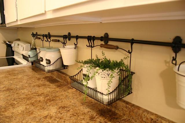 14 идей по организации пространства на маленькой кухне (14 фото)