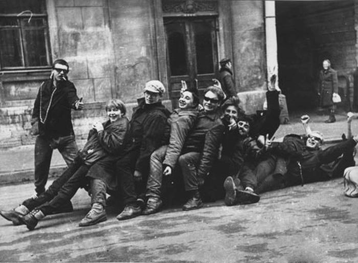 Неформальные сообщества в Советском Союзе (45 фото)