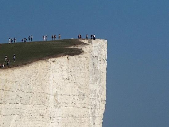 Красивая скала с печальной славой (5 фото)
