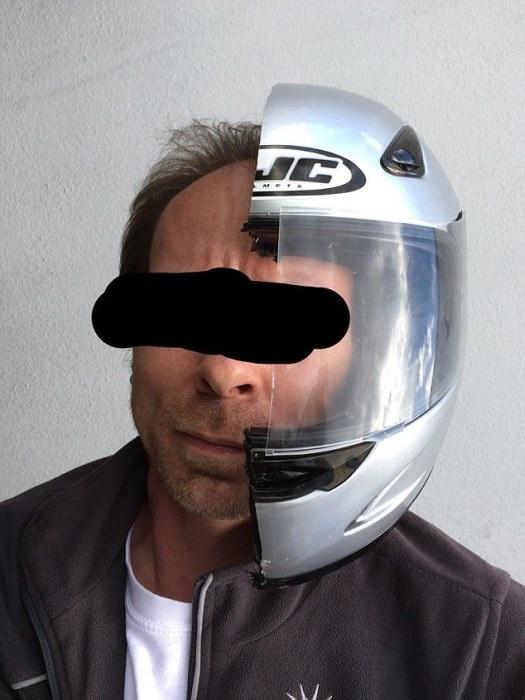 Житель Германии при разводе аккуратно разделил все совместно нажитое имущество с помощью болгарки (14 фото)