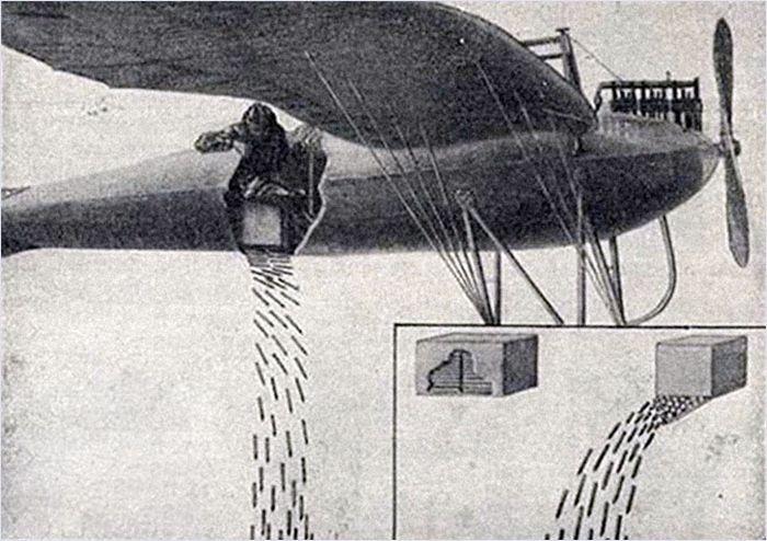 Забытое оружие Первой мировой войны (10 фото)