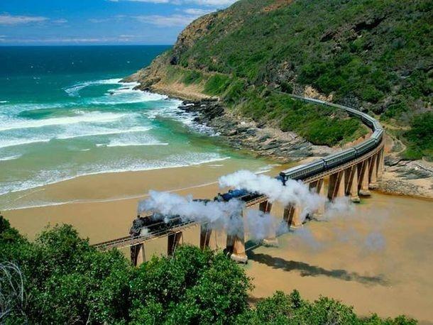 Самые дорогие и необычные поезда в мире (33 фото)
