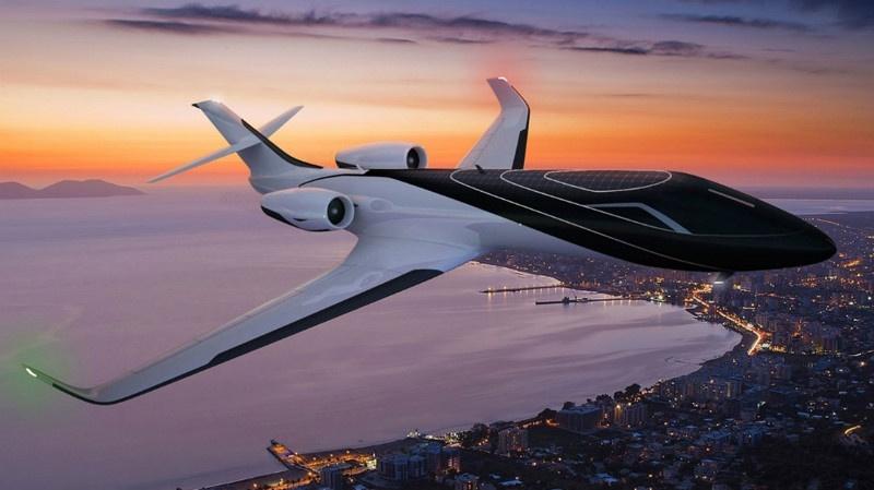 Топ-10 дорогих частных самолетов (10 фото)