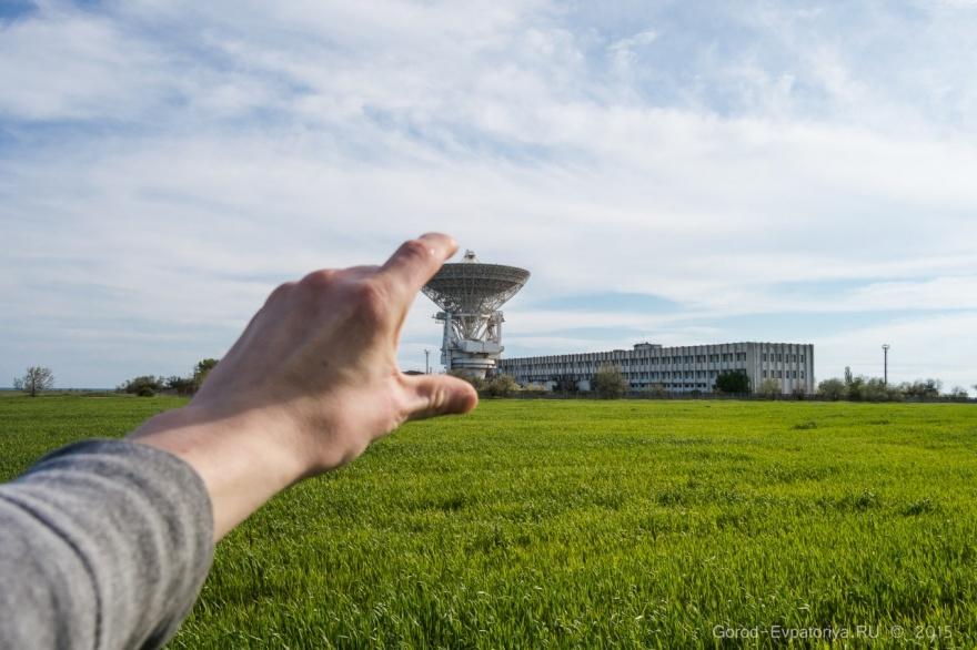 Уникальный радиотелескоп П-2500 (РТ-70) в Крыму
