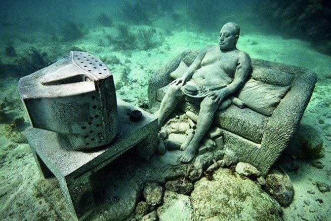 Необычные находки со дна моря